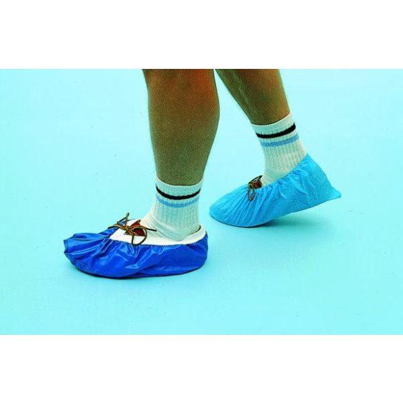 Cipővédő uszodába, közintézménybe 50 pár, gumis perem, 40 mu erősség