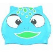 Epsan szilikon gyermek úszósapka, kék viziszörny