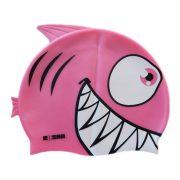 Epsan szilikon gyermek úszósapka, cápa pink