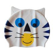 Epsan szilikon gyermek úszósapka,  macska fehér