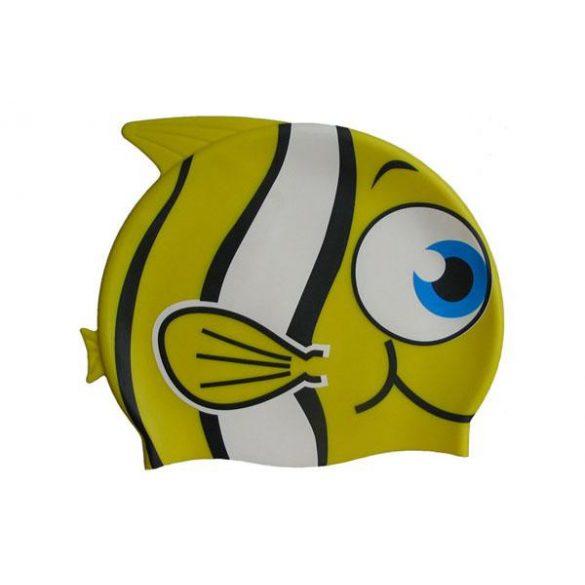 Epsan szilikon gyermek úszósapka, sárga halacska