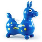 Cavallo Rody Lovacska kék - gyermek premium ugráló lovacska kék színben