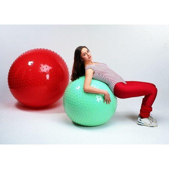 Gymnic Rücskös felületű masszázs labda 65 cm - Therasensory labda