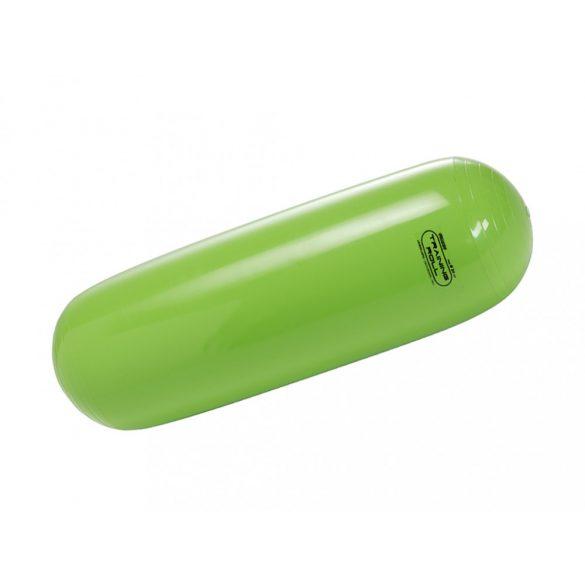 Edző henger 24 cm átmérővel, 70 cm hosszú, lime zöld