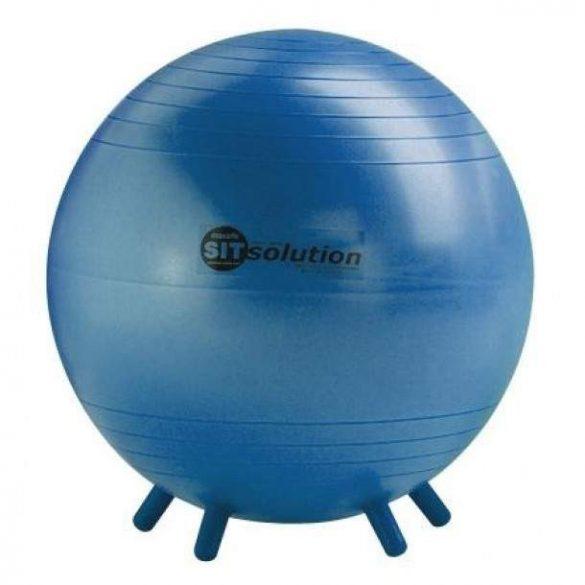 Sitsolution ülőlabda apró lábakkal 65 cm, tengerész kék színben standard