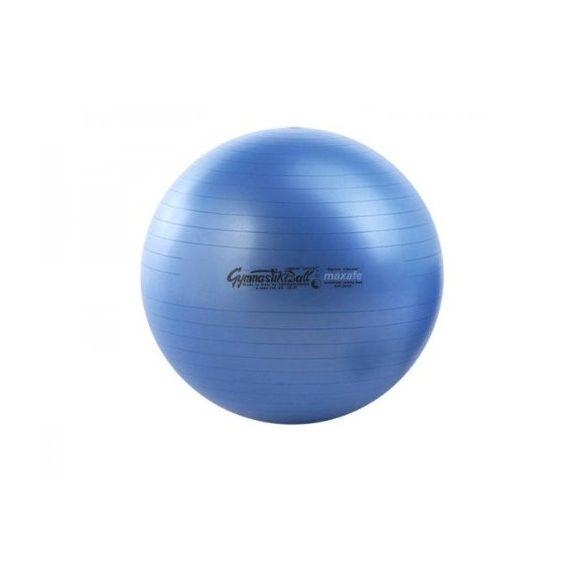 Fitball gimnasztika labda maxafe, 65 cm - KÉK, ABS biztonsági