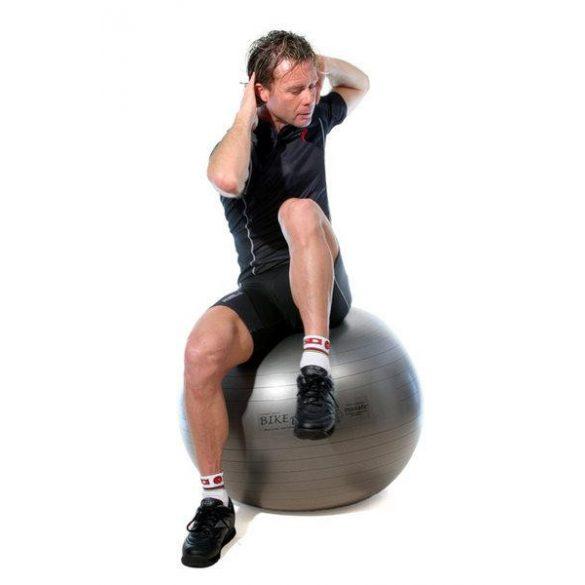Fitball gimnasztika labda Pezzi maxafe, 65 cm - szürke, ABS