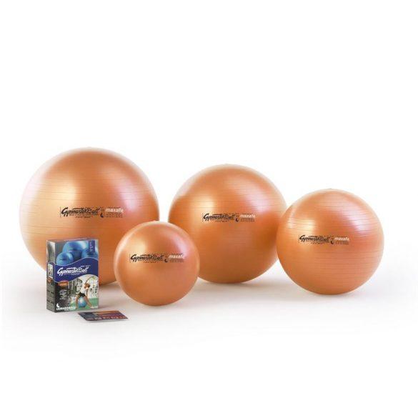 Fitball gimnasztika labda Pezzi maxafe, 65 cm - narancssárga, ABS