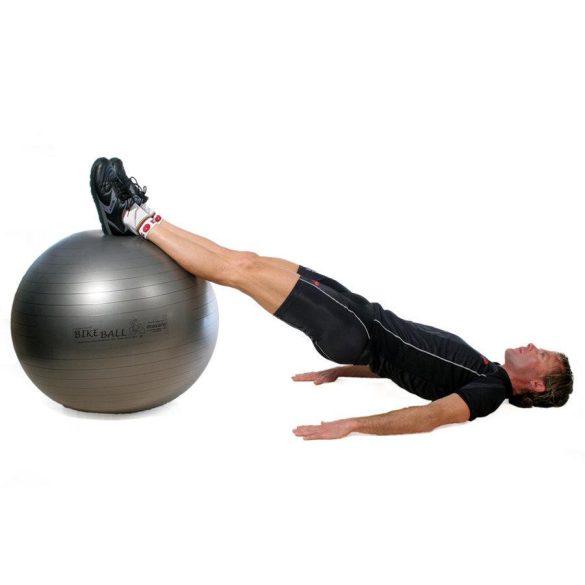 Fitball gimnasztika labda maxafe, 75 cm - antracitszürke, ABS biztonsági