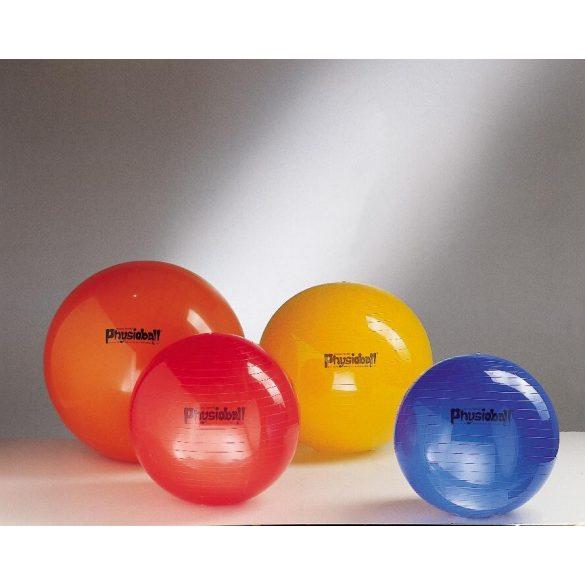 Physioball standard 105 cm terápiás óriás fiziolabda sárga színben
