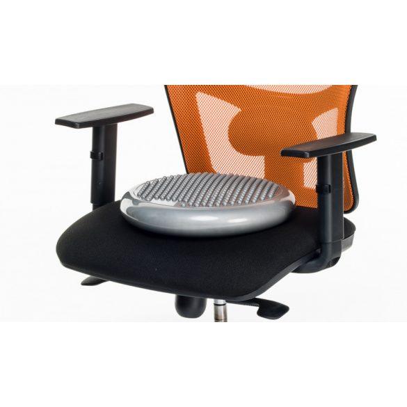 SIT ülő és egyensúlyozó párna 36 cm átmérővel, masszázs/sima felülettel,