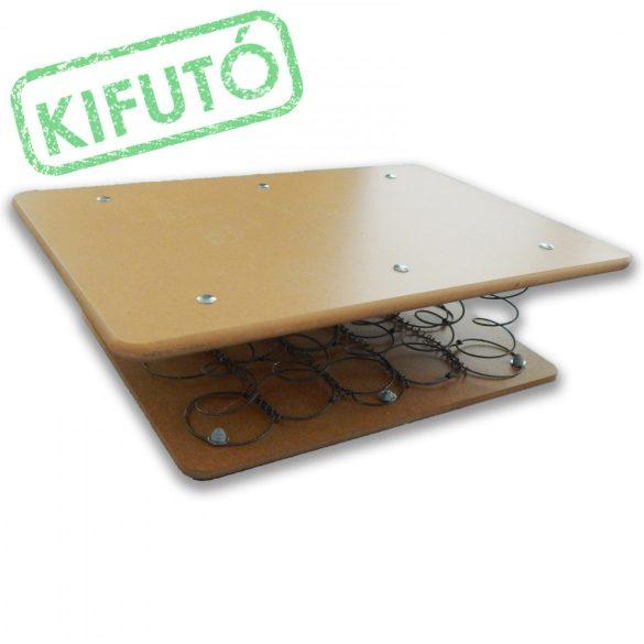 Egyensúlyjavító rugós deszka 55x14x35cm, kétoldalán rétegelt lemez fellépővel