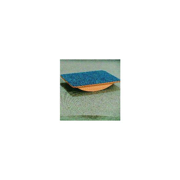 Billenő talp 60x40cm egyensúlyozó deszka, filc borítással, gyógy- és fejlesztőtorna