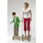 Pedalo Pedasan  32 cm átmérőjű fa egyensúlyozó dob, egyensúlyozó henger, pedalo®