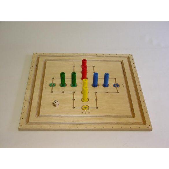 Asztali Fa malom játék 75 x 75 cm