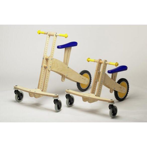 Pedo-bike S air fújható gumikerekű favázas tricikli