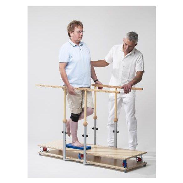 Kétszemélyes rugós egyensúlyfejlesztő 150 x 45 cm, 45 kg-ig