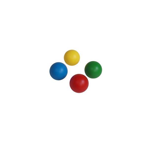 Színes műanyag labda 220 mm átmérővel , szelepesen fújható játéklabda