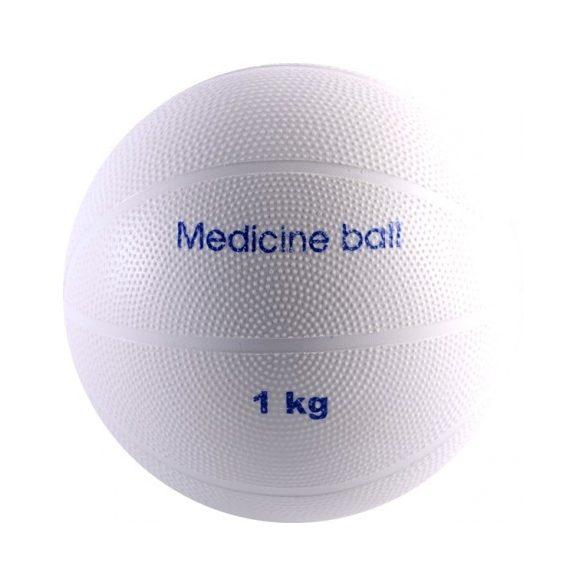 Vízen úszó medicinlabda 1 kg, PVC, vízi medicinlabda