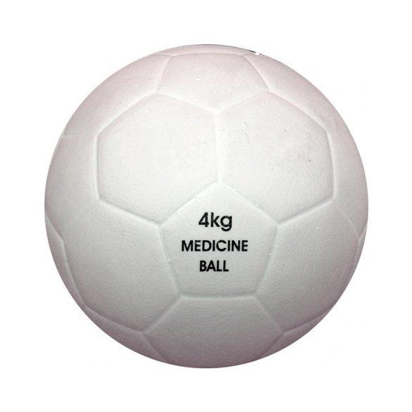 Vízen úszó medicinlabda 4 kg, PVC, vízi medicinlabda