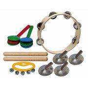 Percussion hangszerválogatás 7 gyermek részére