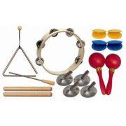 Percussion hangszerválogatás 8-9 gyermek részére