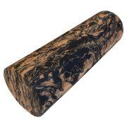Capetan® Extra kemény anyagú 15x45cm SMR maszázs henger narancs/fekete színben
