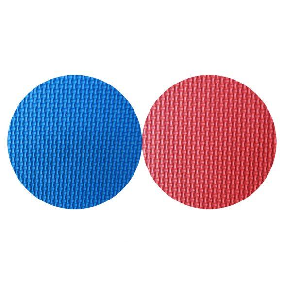 Capetan® Floor Line 100x100x2,5cm piros / kék puzzle tatami szőnyeg