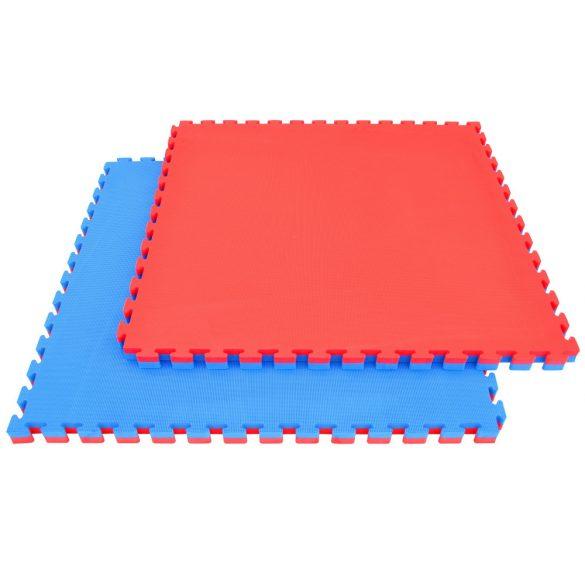 Capetan® Floor Line 100x100x4cm tatami védőszegéllyel piros / kék puzzle
