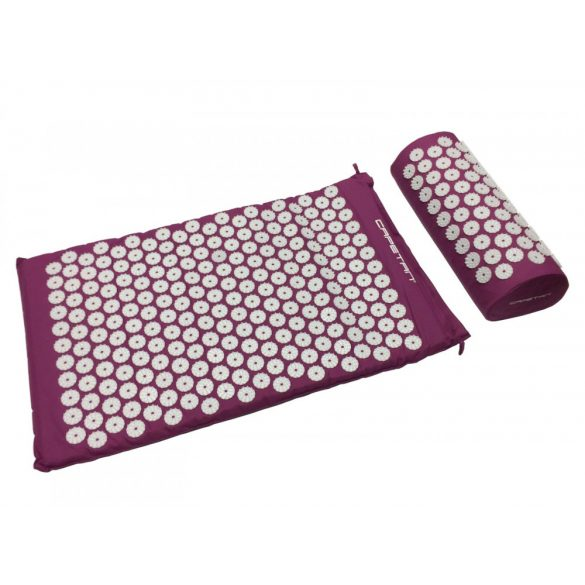 Capetan® Akupresszúrás matrac párnával és hordtáskával - Lila