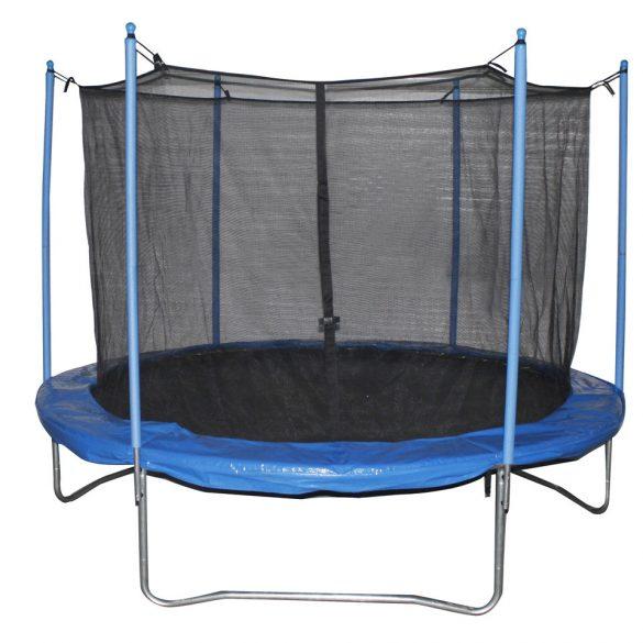 Capetan® Giffy 244cm átm. vázszerkezetű trambulin védőhálóval - kültéri trambulin