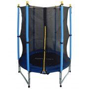 Capetan® Enjoy Kid 140cm kül/beltéri trambulin W lábakkal fém rugókkal