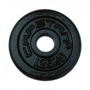 Capetan® 1,25kg acél súlytárcsa kalapácslakk felülettel 31mm lukátmérővel, tárcsaméret: 12,5x2cm