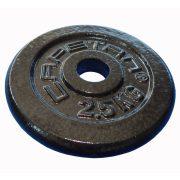 Capetan® 2,5kg acél súlytárcsa kalapácslakk felülettel 31mm lukátmérővel