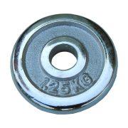 Capetan® chromozott 1,25Kg súlytárcsa 31mm lukátmérővel, tárcsaméret:13x2cm