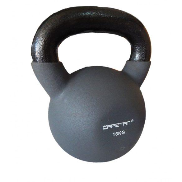 Capetan® Professional Line Neoprene bevonatú kettle bell 16Kg