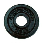 Capetan® 0,5kg acél súlytárcsa kalapácslakk felülettel 31mm lukátmérővel