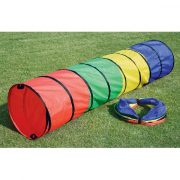 Játszó alagút színes polieszter, összecsukható pop-up bújócska cső