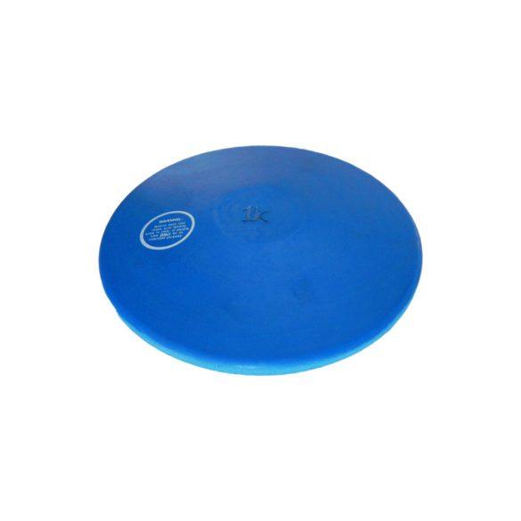 Tactic Sport gumi tréning diszkosz 1kg, színe kék nem hagy