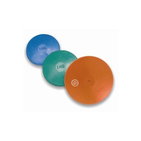 Tactic Sport gumi tréning diszkosz 1,5 kg színe sárga nem