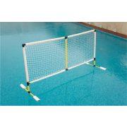 Vízi röplabda állvány medencébe 180*90 cm hálóval