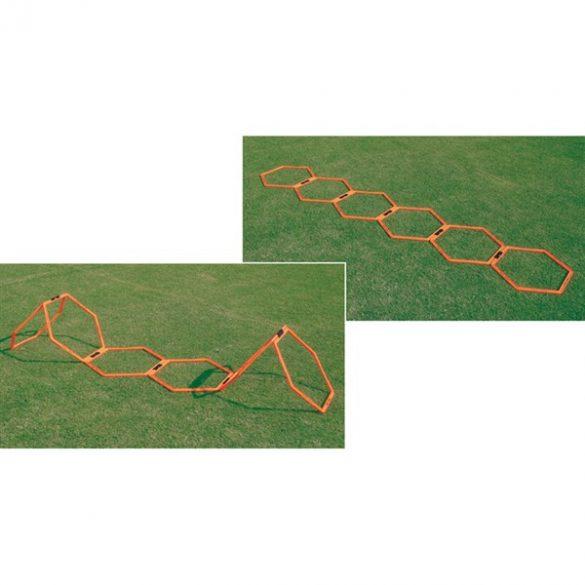 Nyolcszögletű 3 D agility léta szett 6 elemmel
