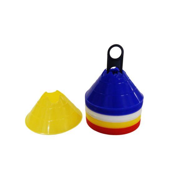Tactic Sport MiniDome labdarúgó bója szett (jelzőkorong) bottartó bevágással 40