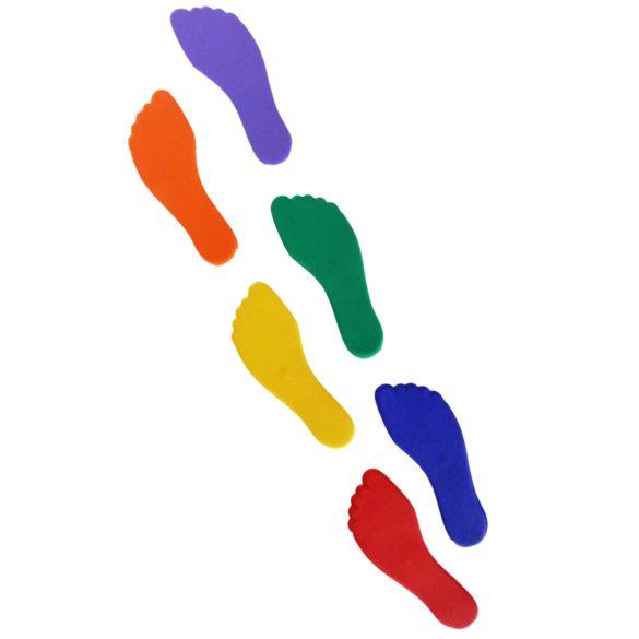 Tactic Sport padlójelölő szett láb forma, csúszásgátló gumiból 18x8 cm,