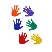 Tactic Sport padlójelölő  szett kéz forma csúszásgátló gumiból 14,5x14,5