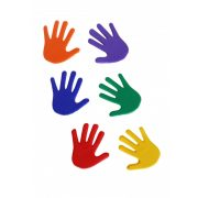 Tactic Sport padlójelölő szett kéz forma csúszásgátló gumiból 14,5x14,5 cm,