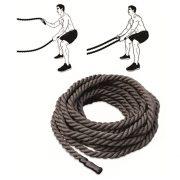 Crossfit professzionális vastag kötél 9 m hosszú, 5 cm átmérő,