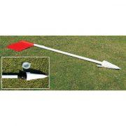 Szögletzászló szett 32mm ármérőjű flexibilis 152 cm hosszú rudakkal