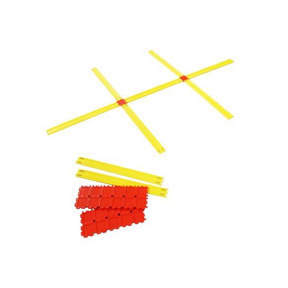 Agility létra szett 24 részes, tettszőlegesen formálható alakzatokhoz 90 elem