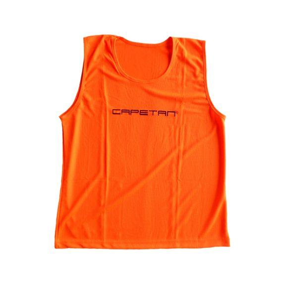 Jelzőtrikó Capetan neon narancs színben (73x60 cm) méret L, apró
